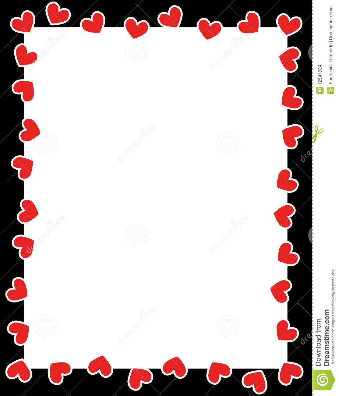 Cards clipart border. Valentines day clip art