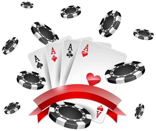Chips and decoration png. Cards clipart casino card