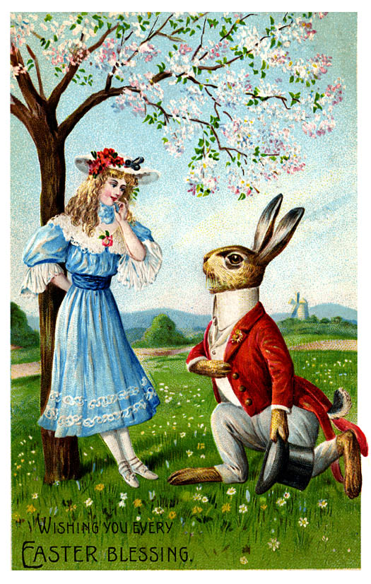 Cards clipart easter. Vintage greeting and antique