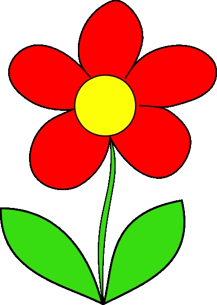 Picture of a free. Cards clipart flower