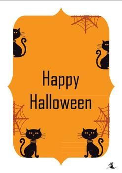 Card clipart halloween.  best verses images