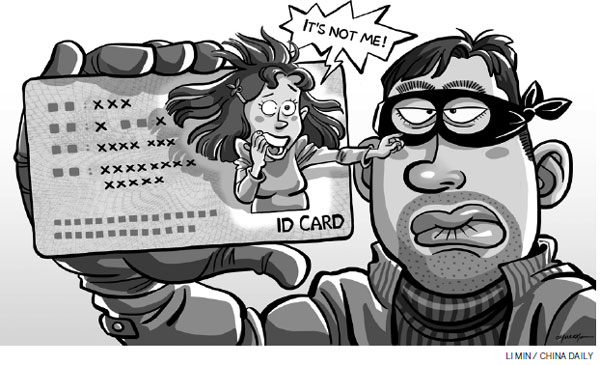 Cards clipart identification card. Time to prevent misuse
