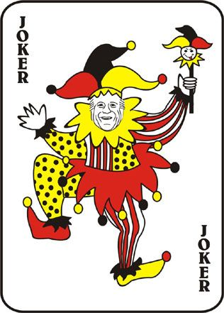 Beautiful deck of best. Cards clipart joker