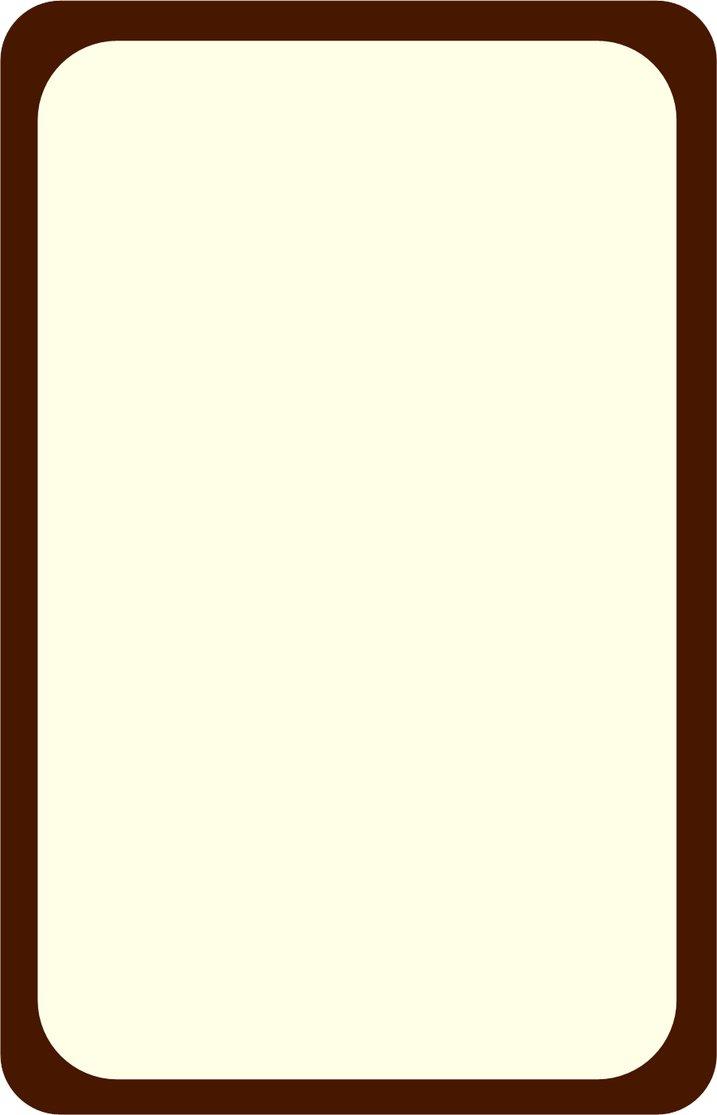 Template blank incep imagine. Cards clipart plain