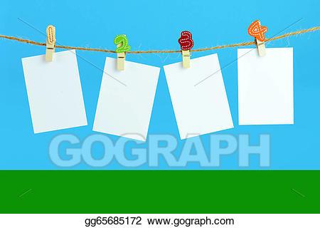 Cards clipart plain. Stock illustration blank gg