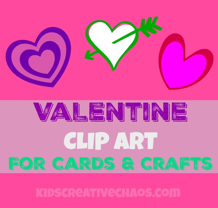 Cards clipart printable.  valentine free hearts