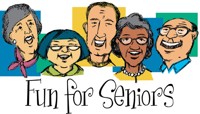 Free citizen pictures download. Card clipart senior center
