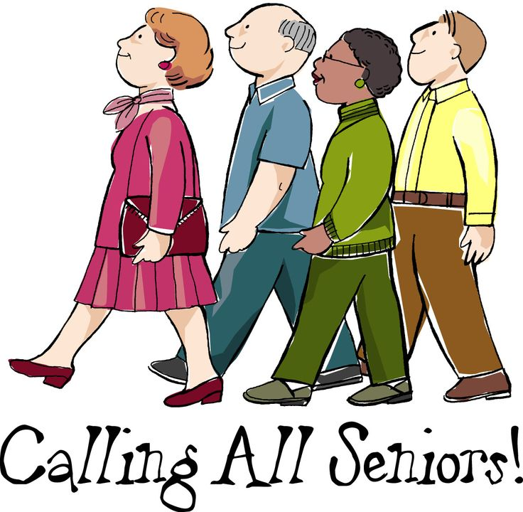 Card clipart senior center.  best ot older