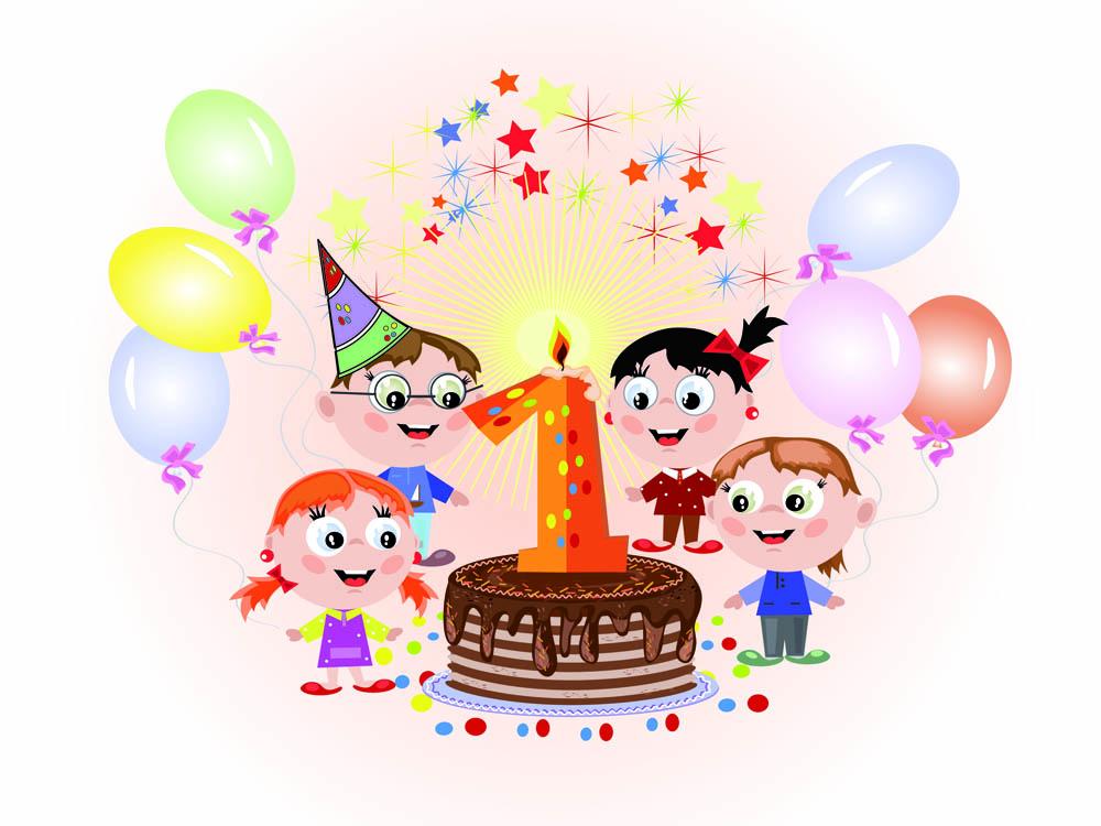 Cartoon birthday free clip. Cards clipart vector
