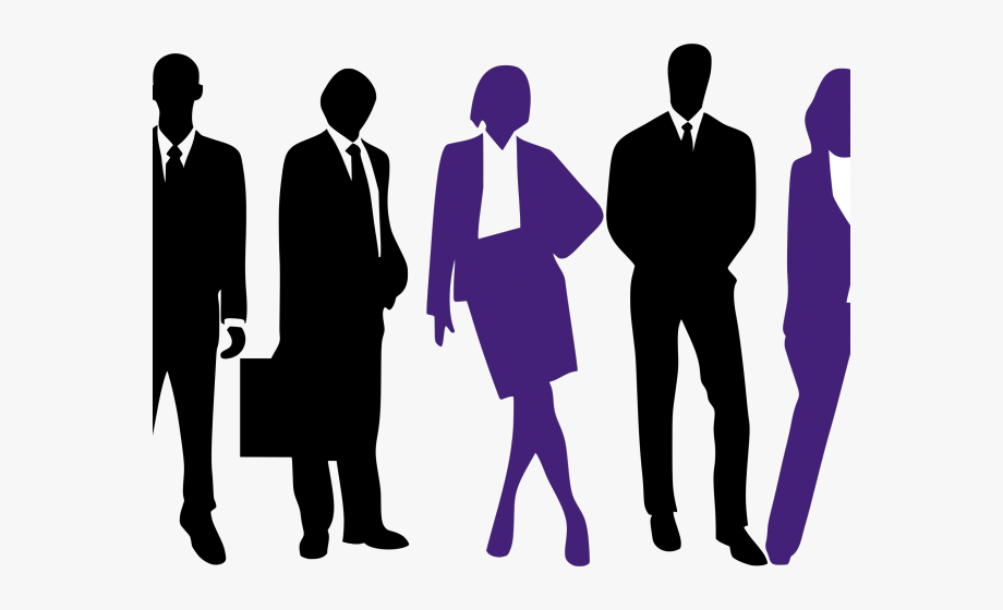 Professional clipart black and white. Workplace career