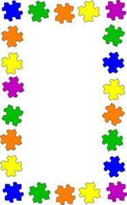 What a puzzle with. Careers clipart borders