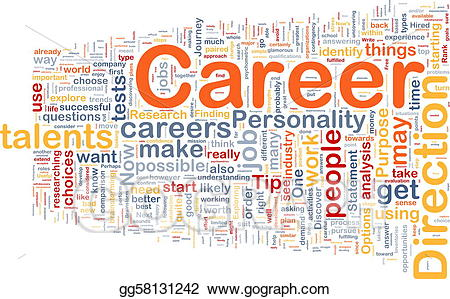 Stock illustration career background. Careers clipart drawing