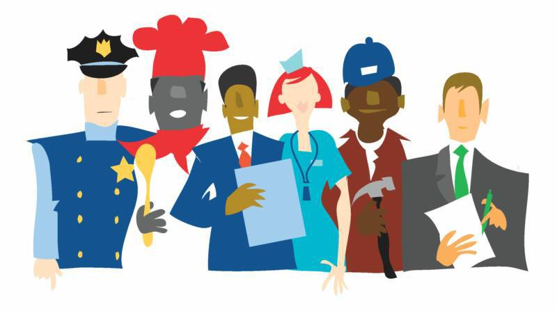 Career clipart career exploration. Character education meets asca