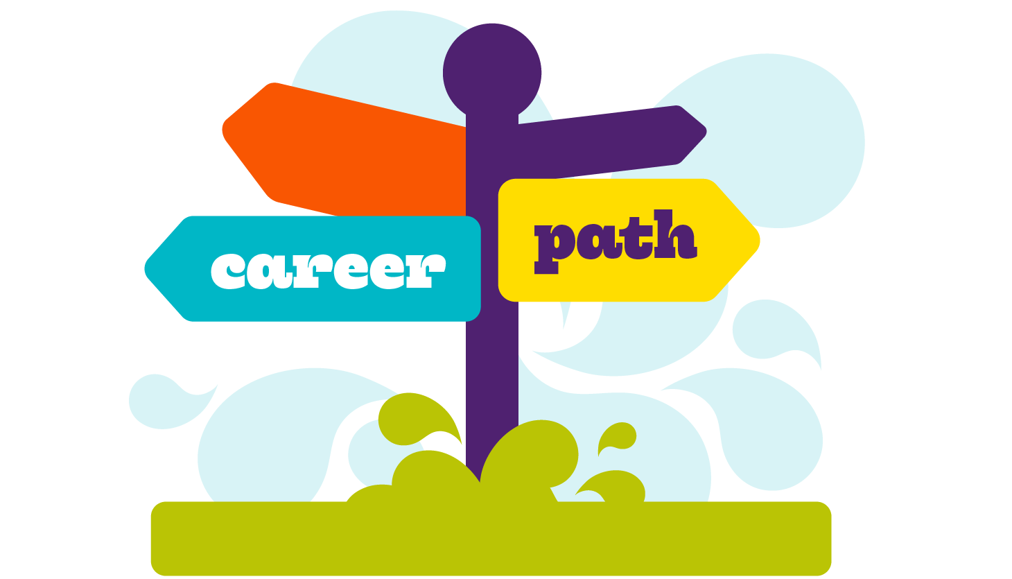 Pathway clipart path. Career guidance centre ghedex