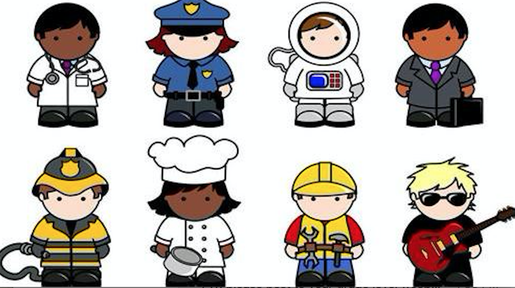 Careers clipart career day. Dress up grade two
