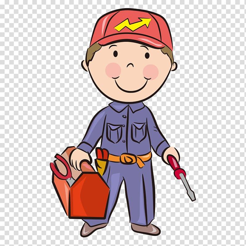 Profession job career boy. Careers clipart cartoon