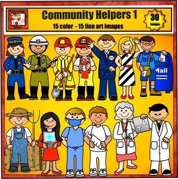 Career clipart community helper. Helpers clip art jobs