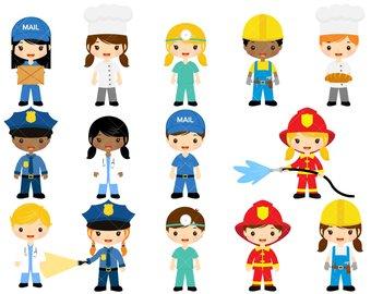 Career clipart community member. Helpers etsy job clip