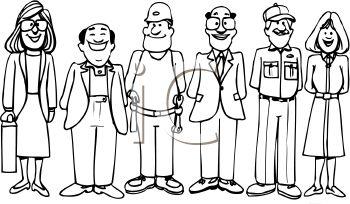 Careers clipart drawing. Jobs at getdrawings com
