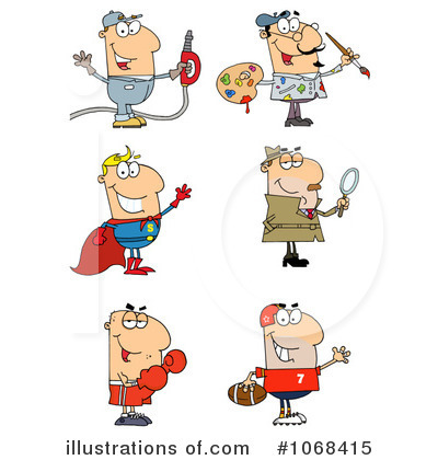 By hit toon royaltyfree. Career clipart illustration