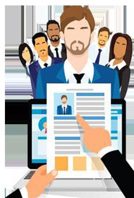 Arced foundation look no. Career clipart internship