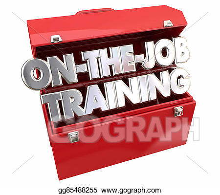 Careers clipart job training. Stock illustration on the