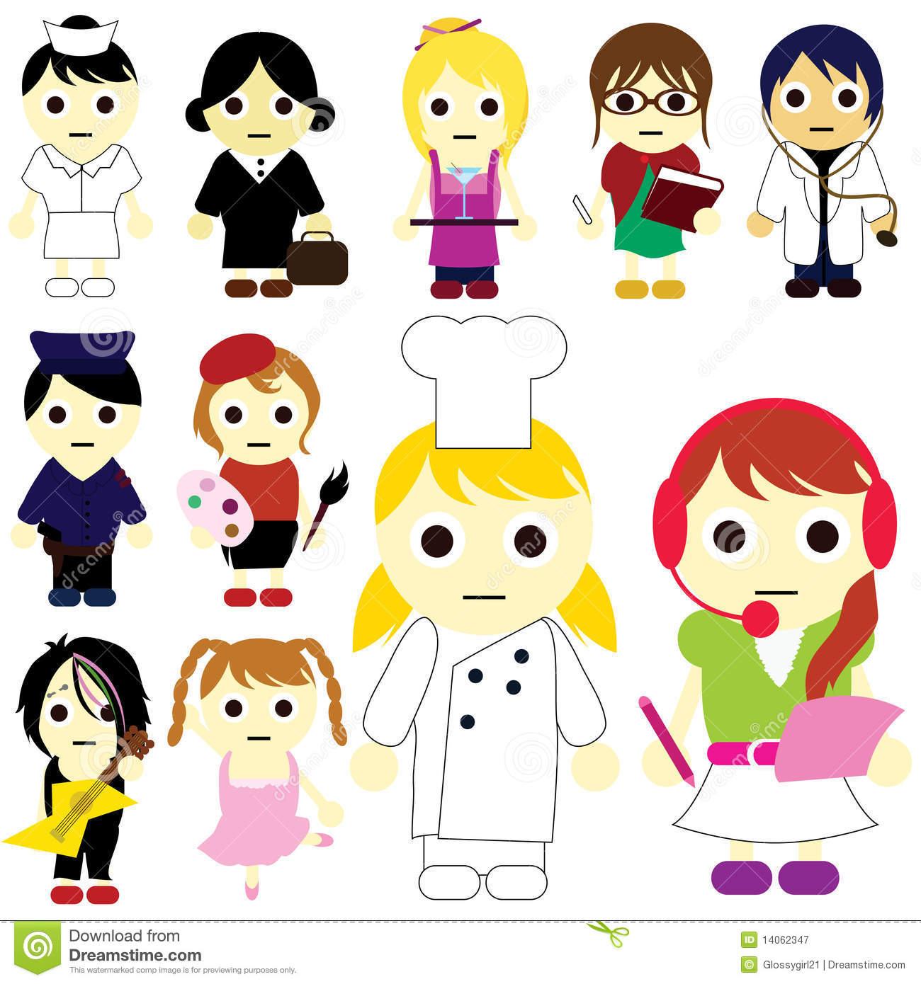 Careers clipart kid. Career pictures for kids