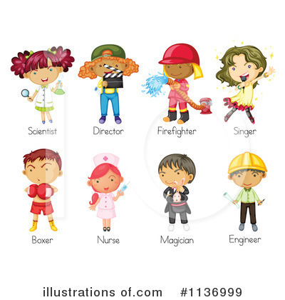 Careers clipart kid. Career cilpart project ideas