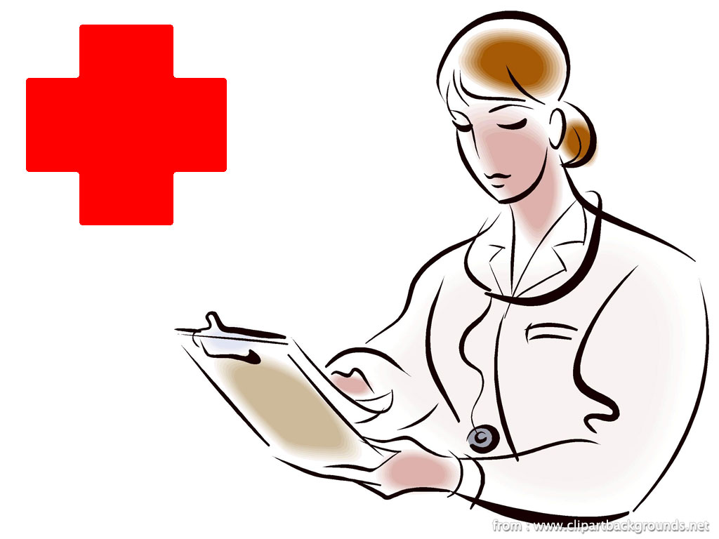 Clipart doctor treatment. Free medical care cliparts