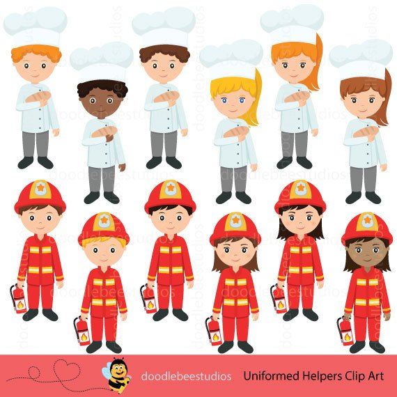 Career clipart painting. Community helpers day this