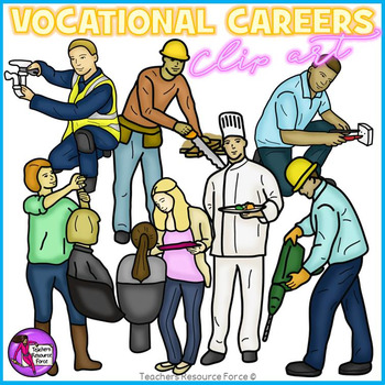 Careers clipart. Vocational clip art by