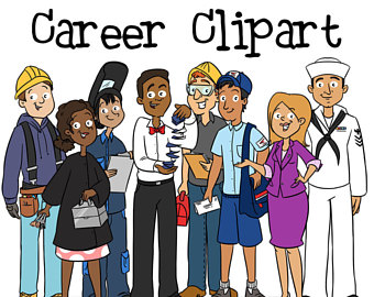 Careers clipart. Career etsy navy cosmetology
