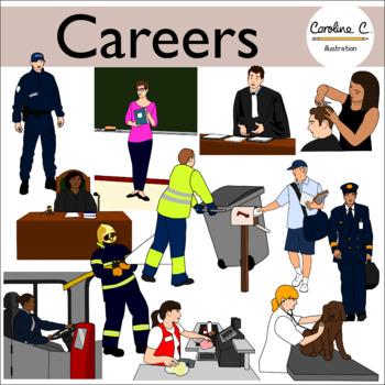 Career jobs worksheets teaching. Careers clipart