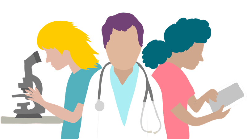 Careers clipart career choice. Healthcare choices types salaries