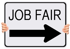 Upcoming job fairs . Careers clipart career fair