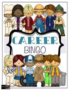 Careers clipart career guidance. Bingo counseling game for