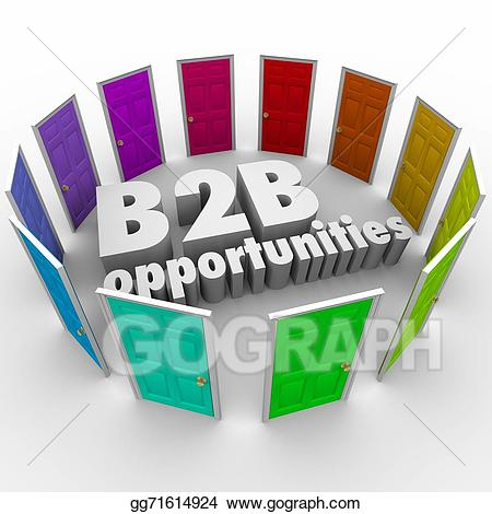 Drawing b opportunities word. Careers clipart career opportunity
