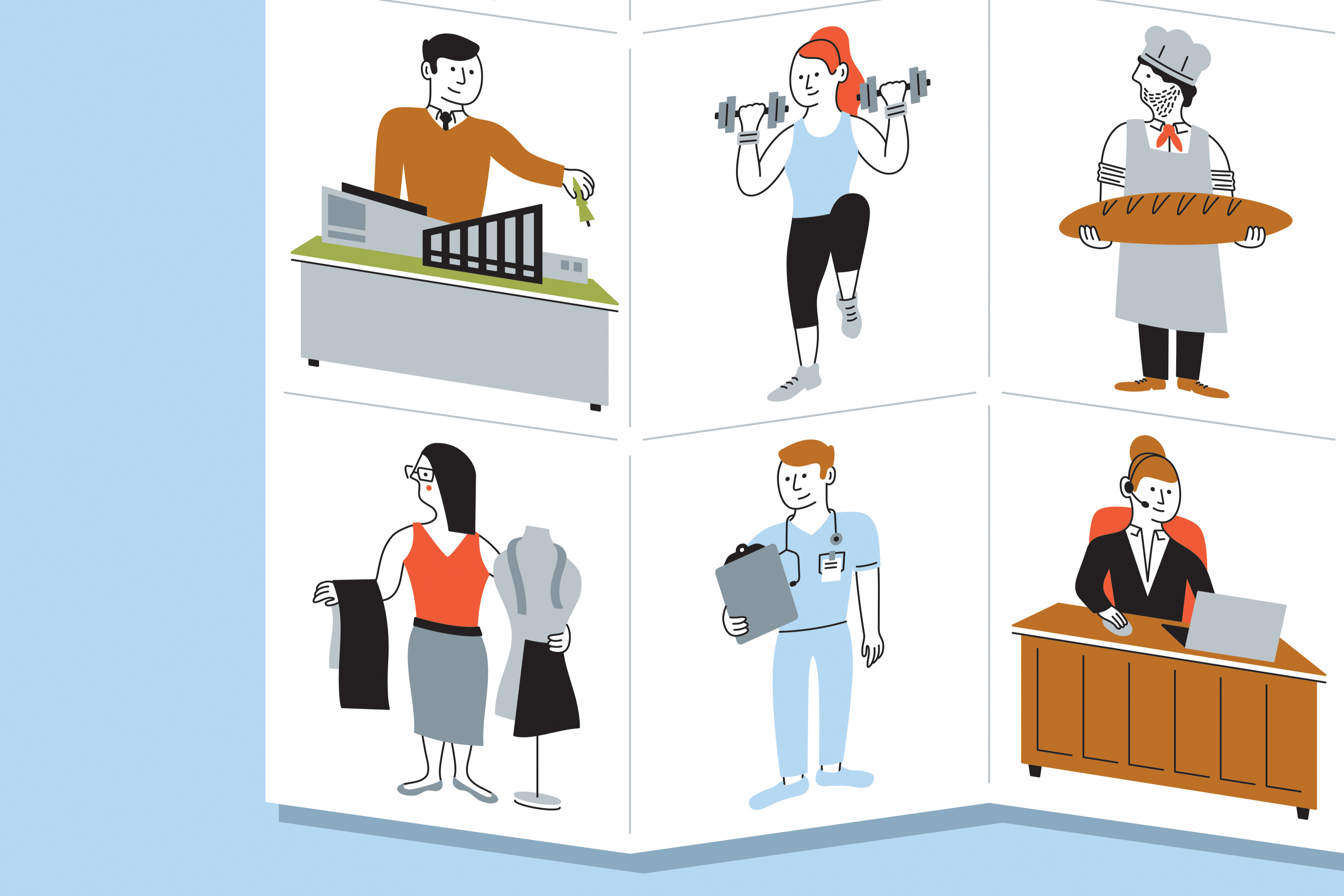 Careers clipart career person.  secrets to landing