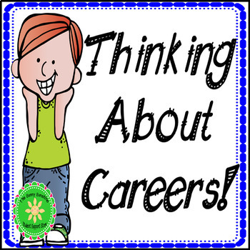 Job and thinking about. Careers clipart career planning