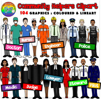 Careers clipart community helper. Helpers by the cher