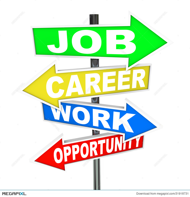 Career clipart different career. Job work opportunity words