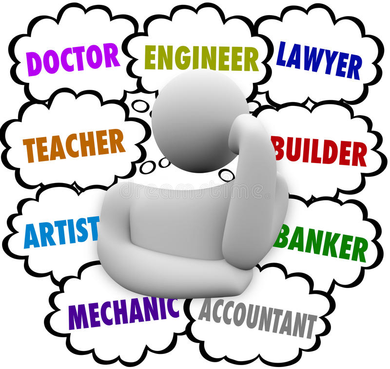 Career cilpart innovation choices. Careers clipart drawing