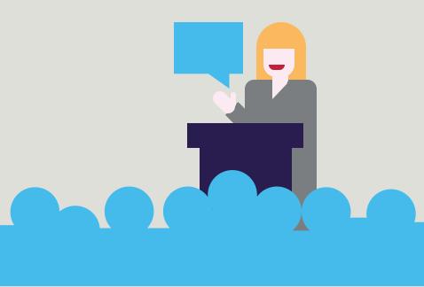 Speakers corner bureau motivational. Careers clipart guest speaker