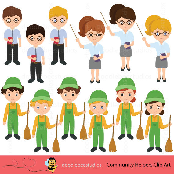 Careers clipart painting. Community helpers career day