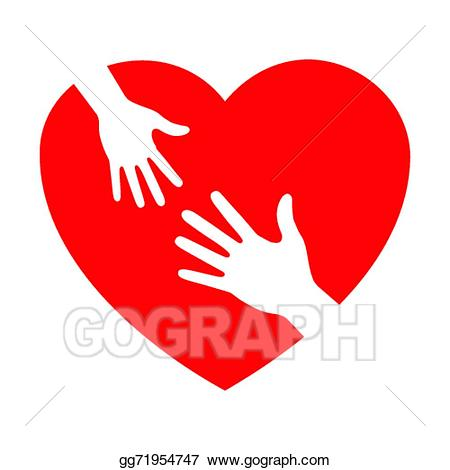 Caring clipart. Hands clip art royalty