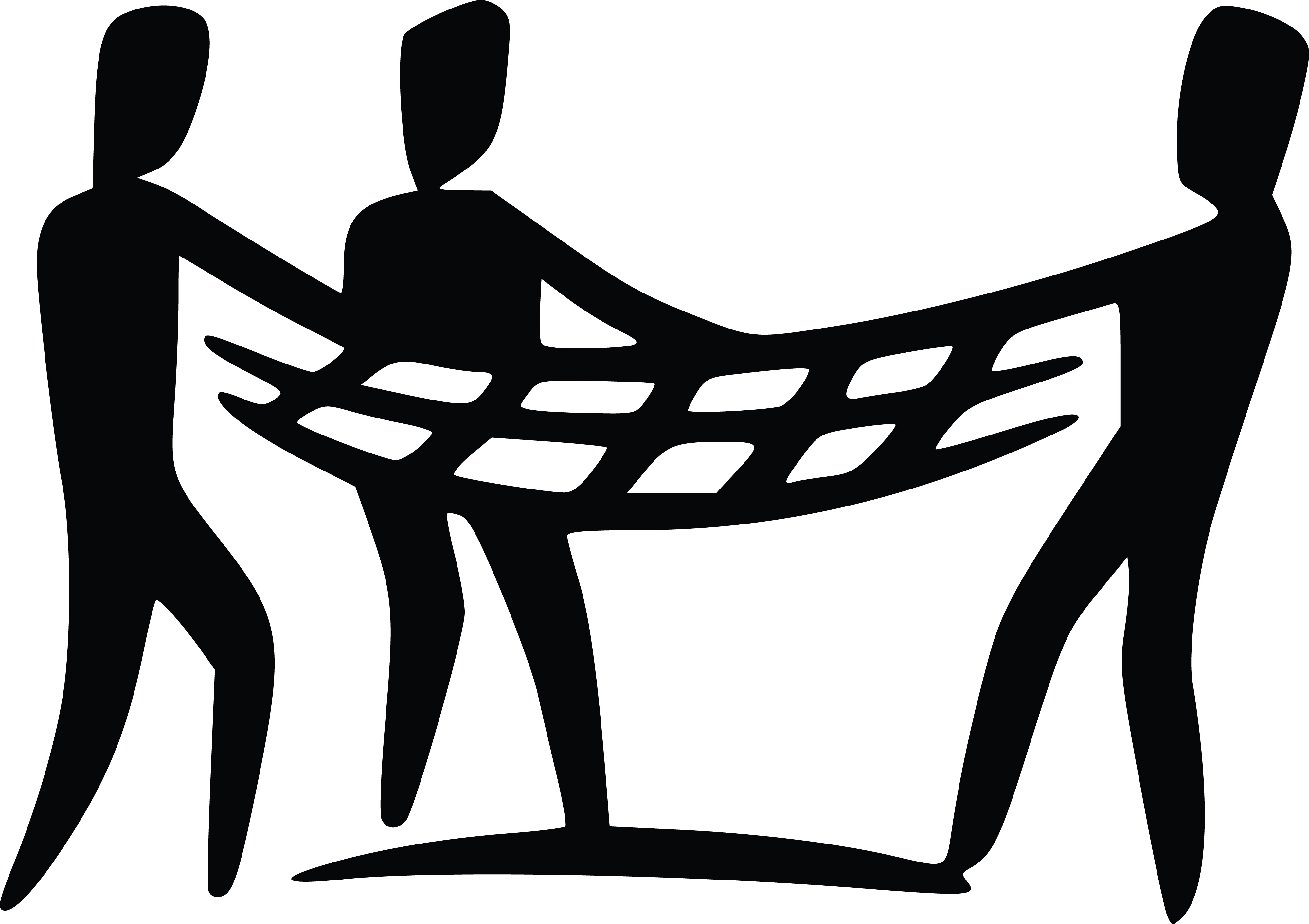 Free of a team. Caring clipart black and white