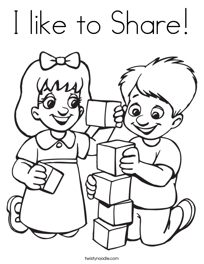 collection of sharing. Caring clipart black and white