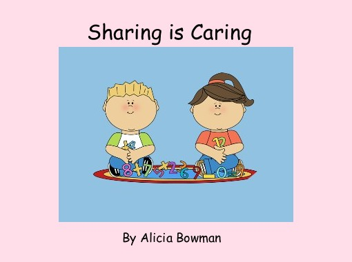 Sharing is free books. Caring clipart book