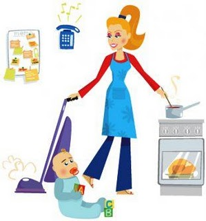 Caring clipart caring mom. Stay at home moms