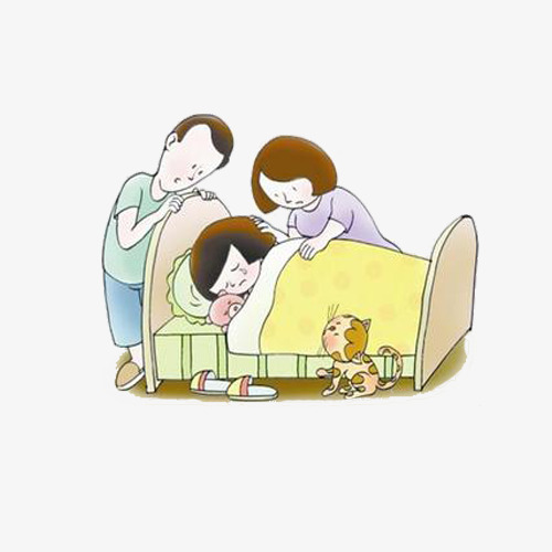 Take care of sick. Caring clipart caring mother